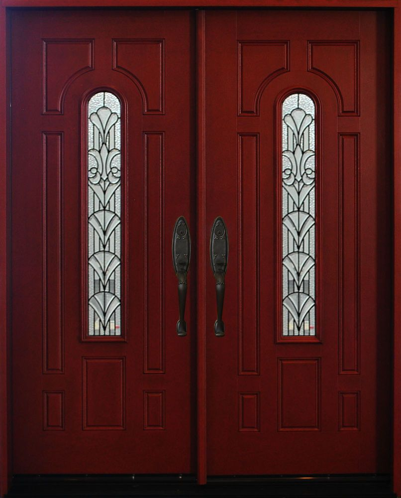 Exterior Front Entry Double House Fiberglass Door M280a 30 X 80 X2 Dbl Fiberglass Door French Front Doors Front Entry Doors