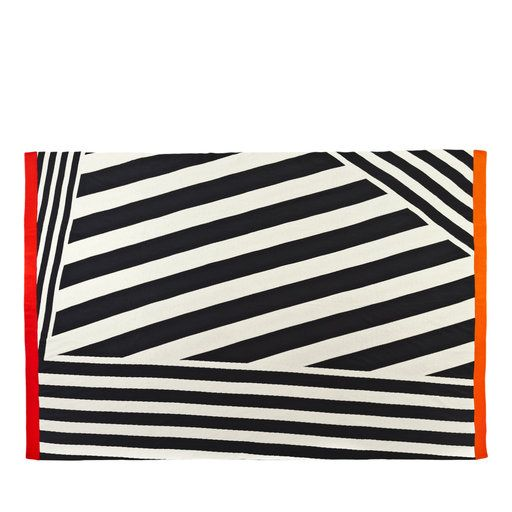 Diagonal Bands Blanket - Shop Roberta Licini online at Artemest