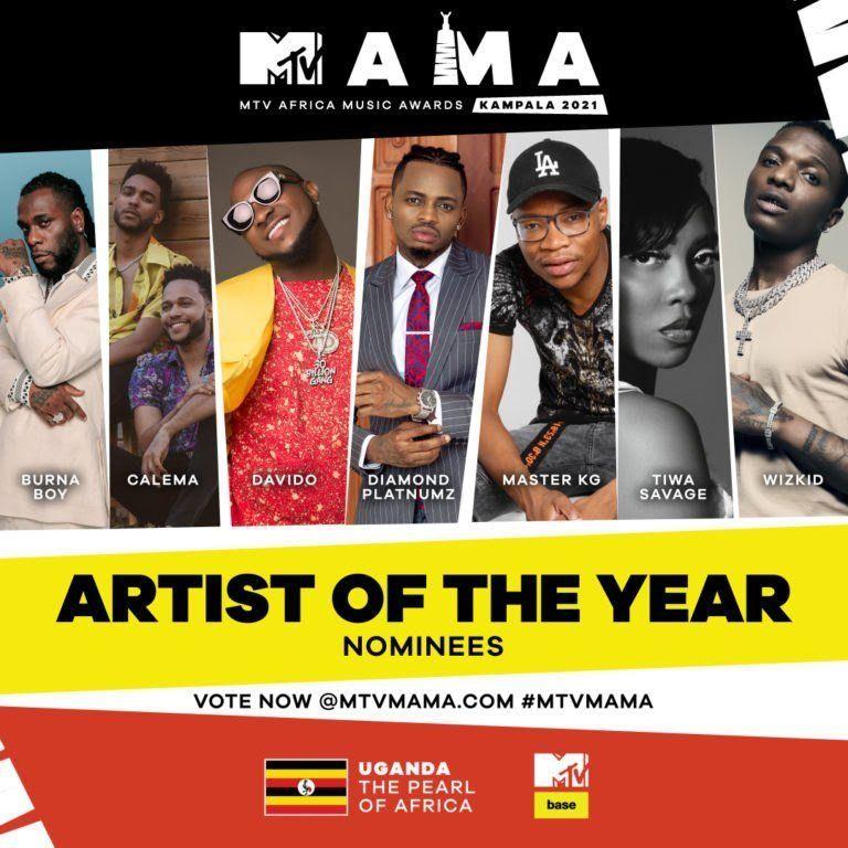 Mtv Mama 2021 Full Nominees List In 2020 Mtv Mama Awards Mtv Awards