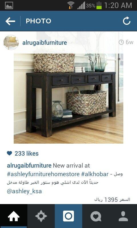 طاولة التلفزيون الرقيب الخبر Ashley Furniture Homestore Home Decor Entryway Tables