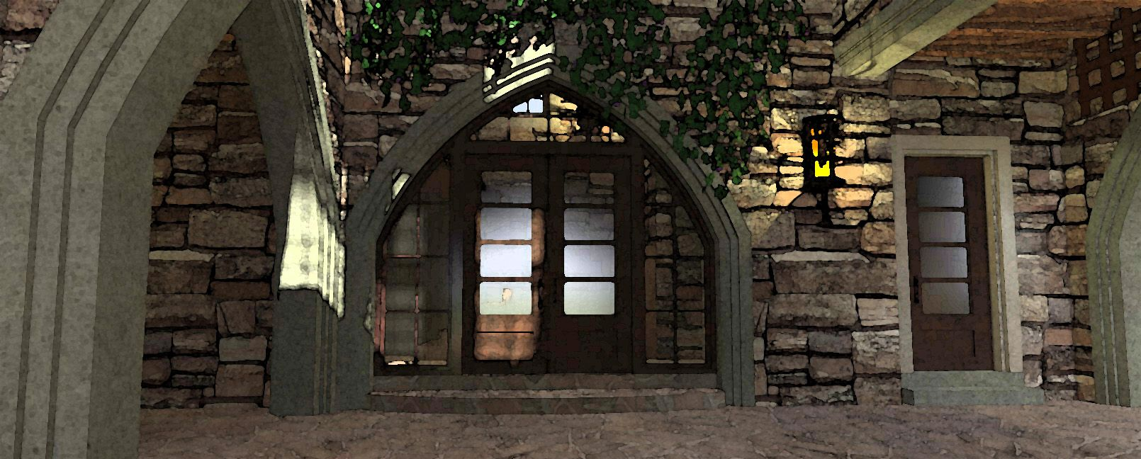 My Husbands Dream Game Of Thrones Style Home Castle House Castle Plans House With Porch