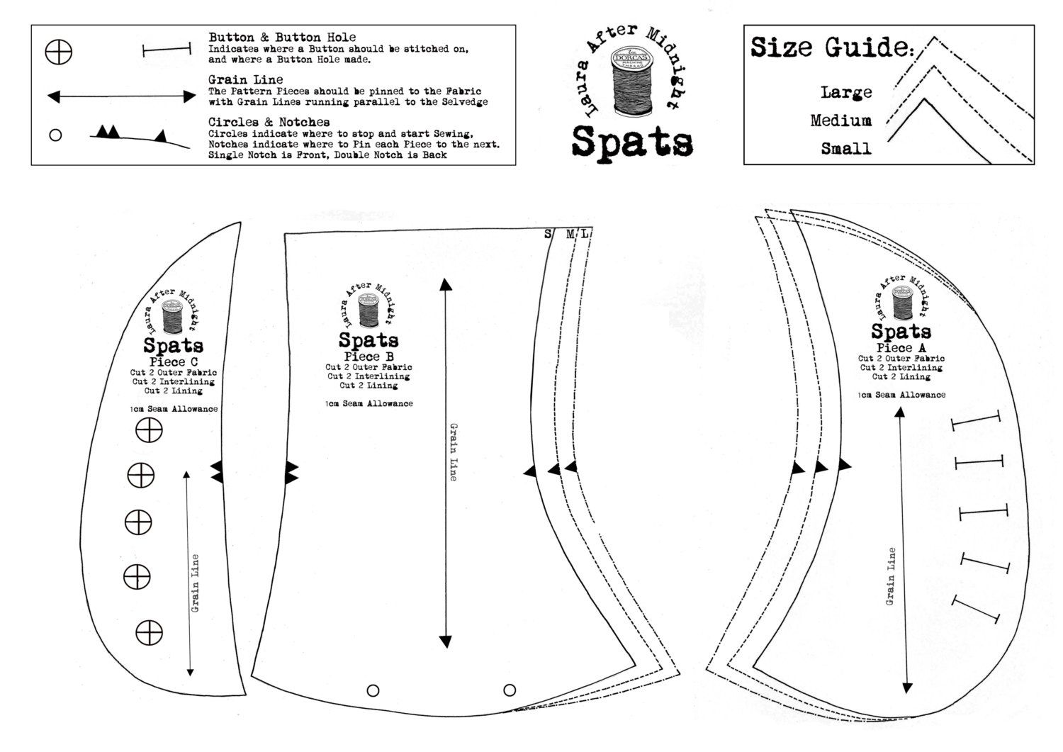 Half Gaiters Sewing Pattern Google Search Steampunk Patterns Steampunk Spats Sewing Patterns