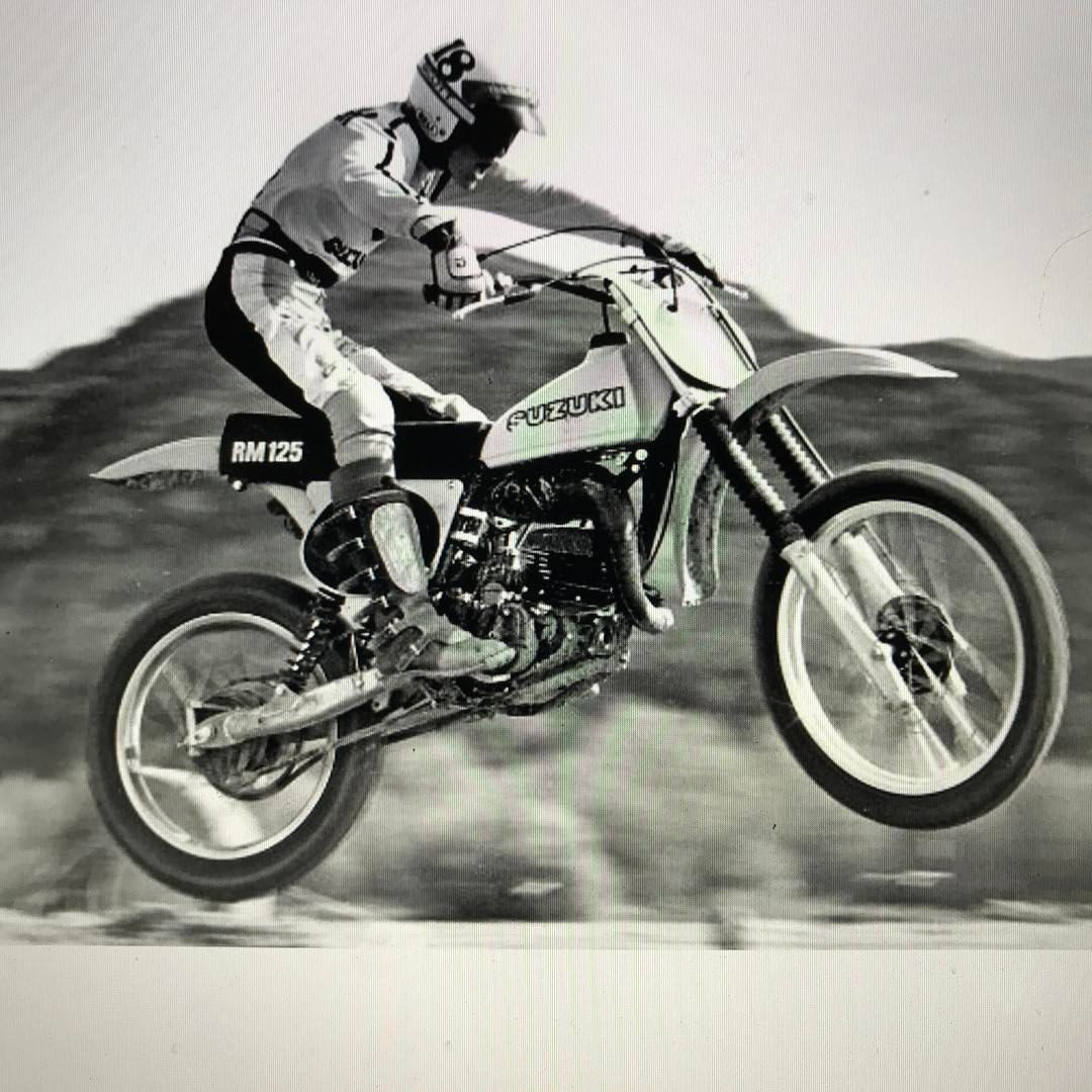Brian Myerscough Out Testing The Rm125 Motocrosshistory Suzuki