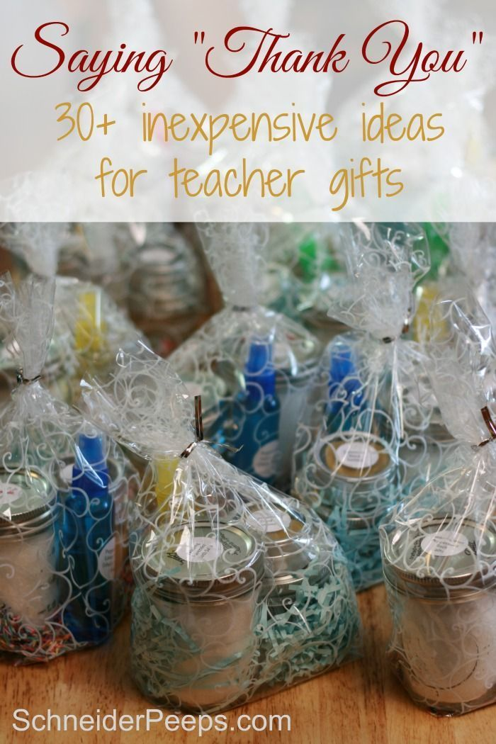 Saying Thank You With Handmade Teacher Gifts That They Will Actually Use Reciation Ideas Pinterest And