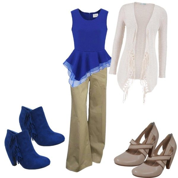 A fashion look from March 2015 featuring Theory pants, Miz Mooz pumps and Yoki ankle booties. Browse and shop related looks.