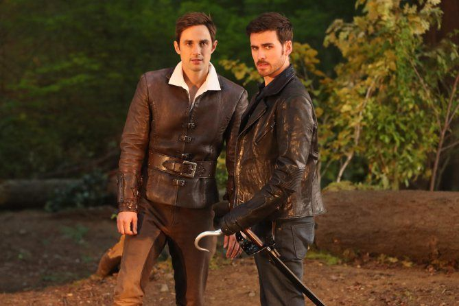 Andrew J West Colin O Donoghue Once Upon A Time Colin O