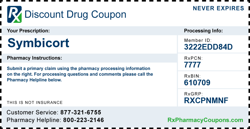 Symbicort Coupon Gives Free Access To Wholesale Medication Prices