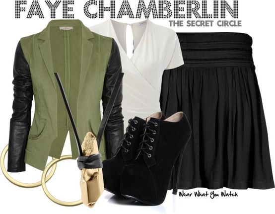 Wear What You Watch • Inspired by Phoebe Tonkin as Faye Chamberlin on...