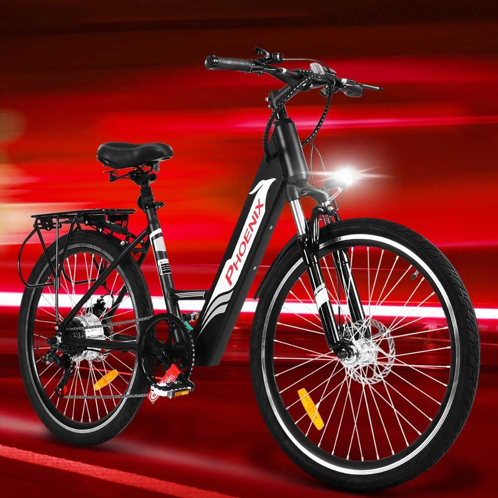 Phoenix 26 Electric Bike Ebike E Bike Mountain Bicycle City