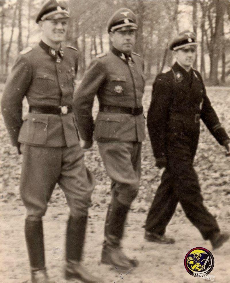 "SS-Sturmbannführer Heinrich ""Hein"" Springer"