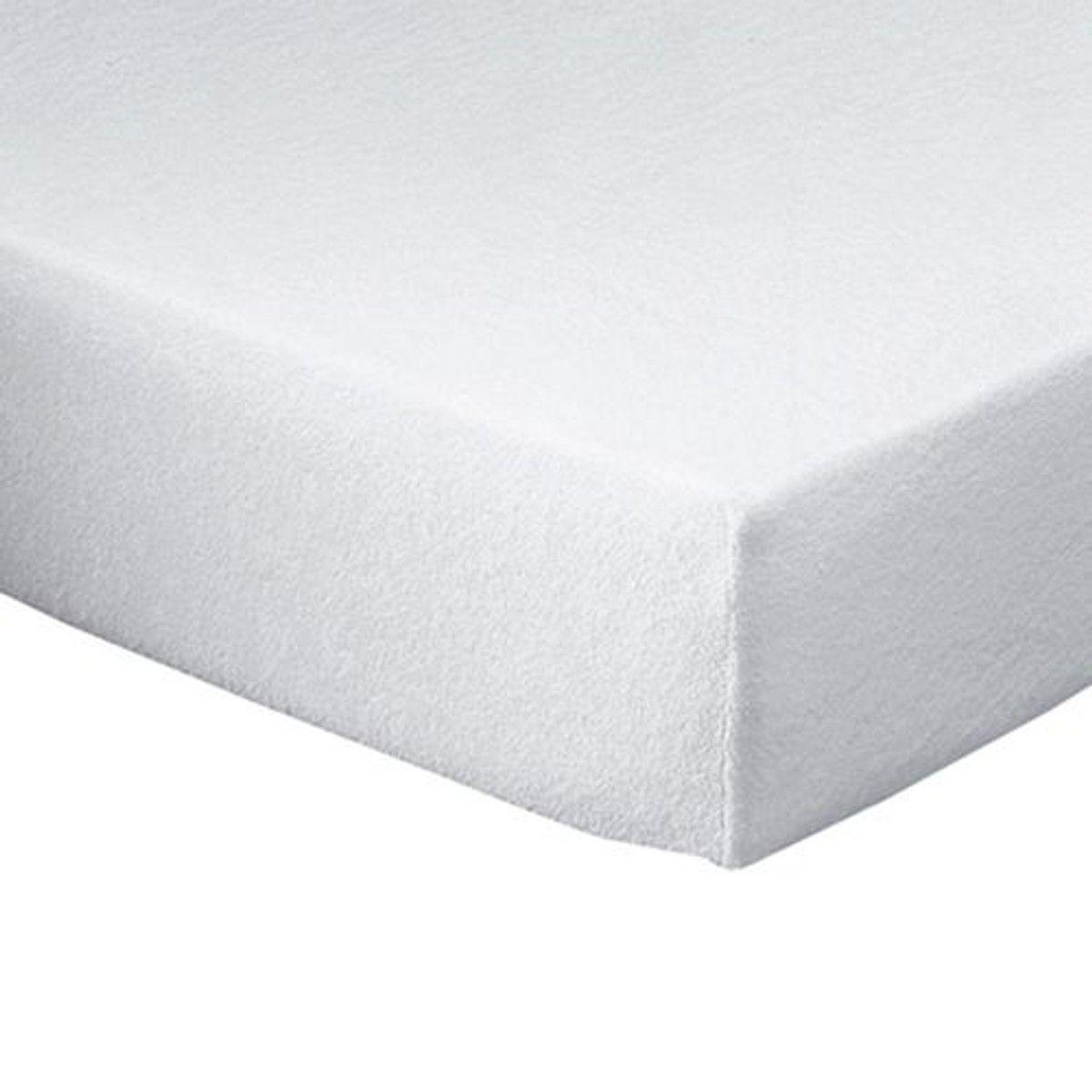 Protege Matelas Molleton Stretch Impermeable Taille 160x200 Cm