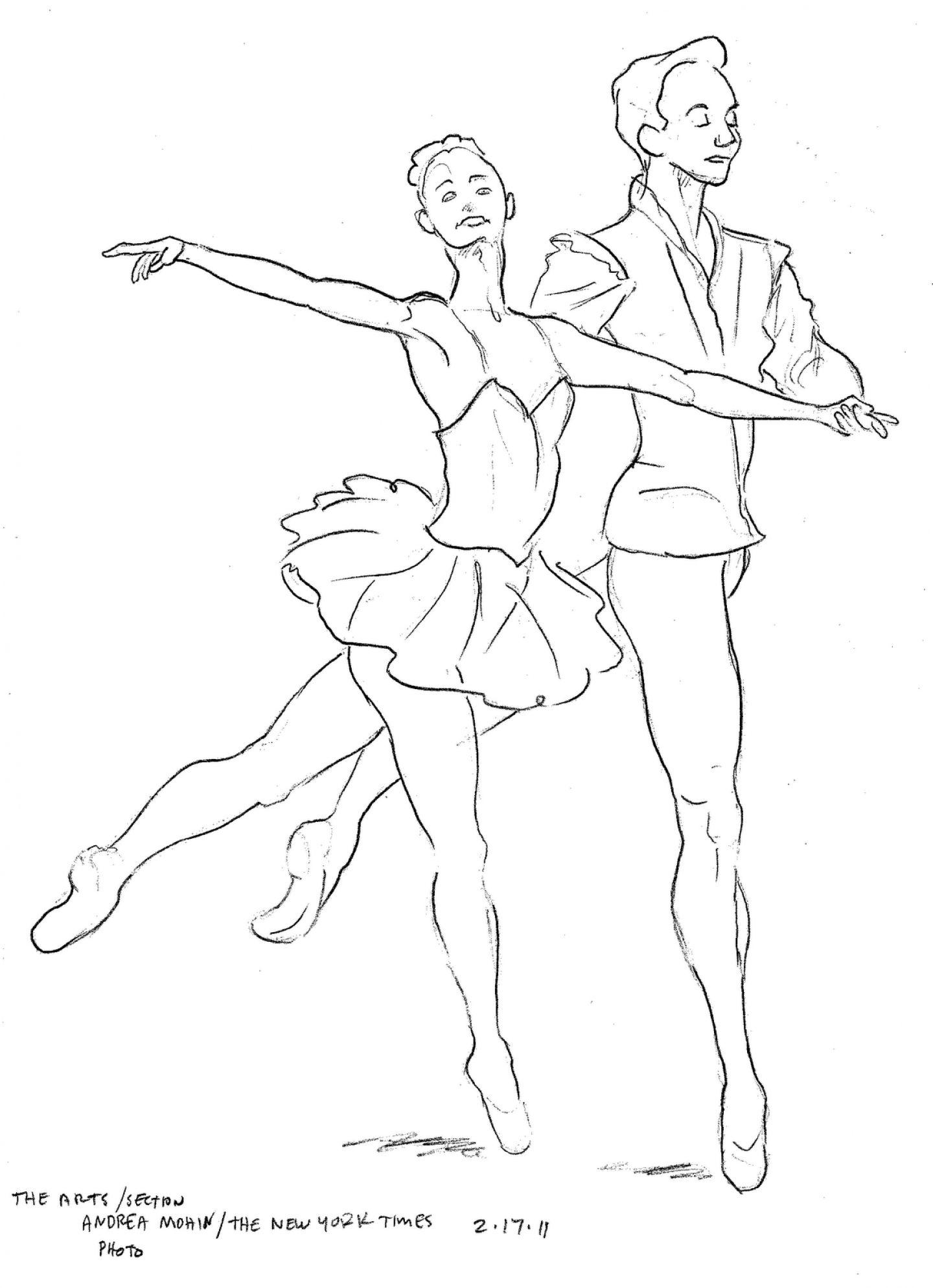 ballet dancer coloring pages pictures imagixs httpwwwcoloringoutlinecom - Free Ballet Coloring Pages 2