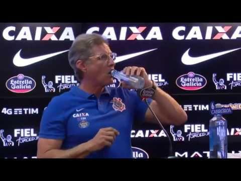 Apresentação Oswaldo De Oliveira no Corinthians 14/10/2016