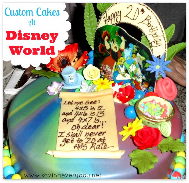 How To Have A Custom Cake Made At Disney World Custom cake Walt