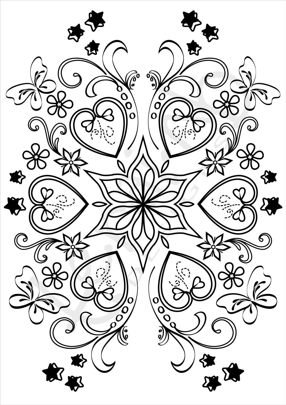 Adult Colouring page. Coloring Page_006.Jpeg by ...