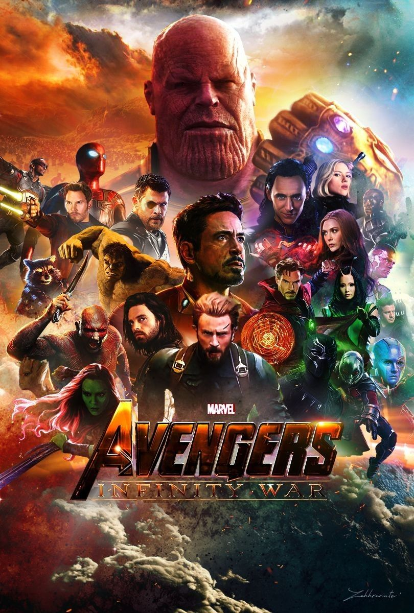 Maxi Poster 61cm x 91.5cm PP34296-115 Avengers Infinity War Characters