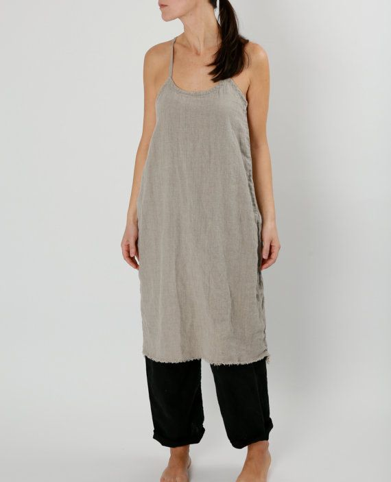 Hey, I found this really awesome Etsy listing at https://www.etsy.com/listing/227550410/natural-linen-everyday-dress