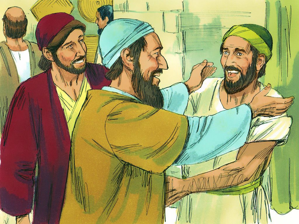 After a while Paul was joined by Silas and Timothy who arrived