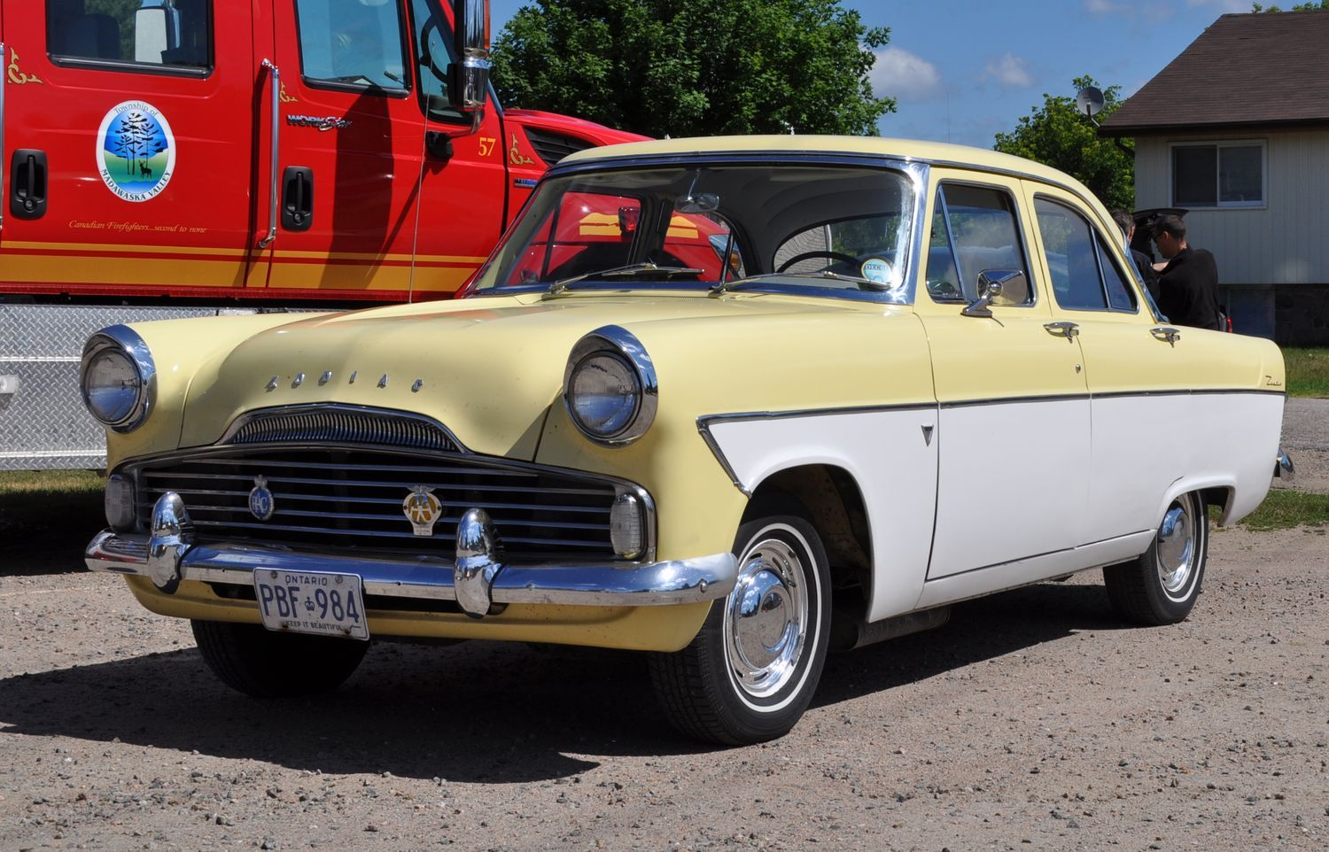 Canadian Sightseeing Ford Zodiac Hemmings Daily Ford Classic Cars Classic Cars Classic Cars Vintage
