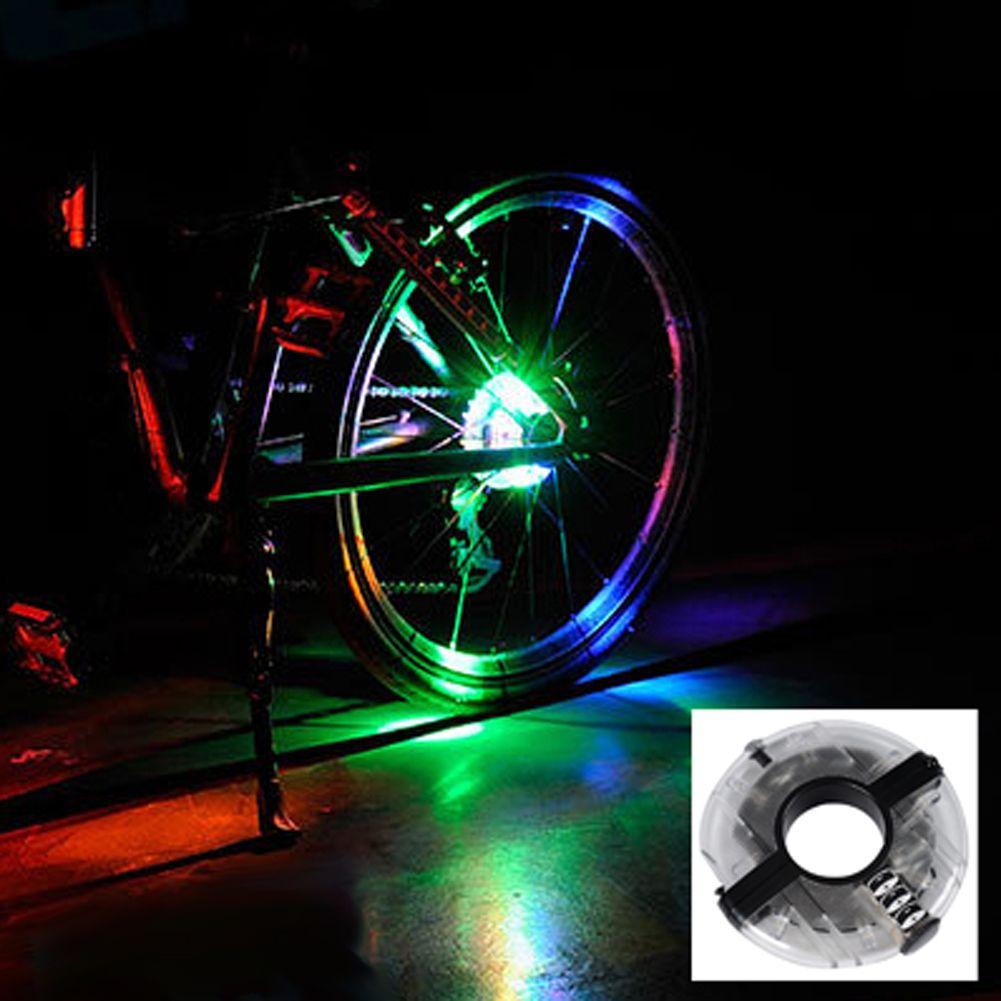 Menakjubkan Baru Glowing Keselamatan Sepeda Peringatan Cahaya Hub
