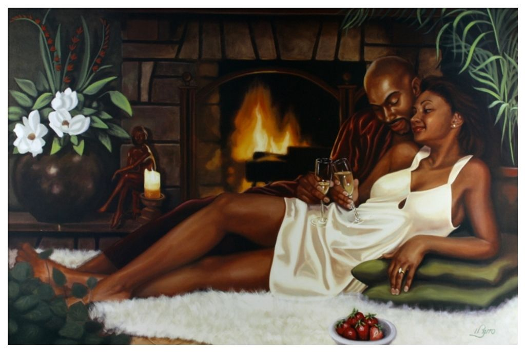 Henry Lee Battle Always and Forever Ethnic African American Print Poster 24x36