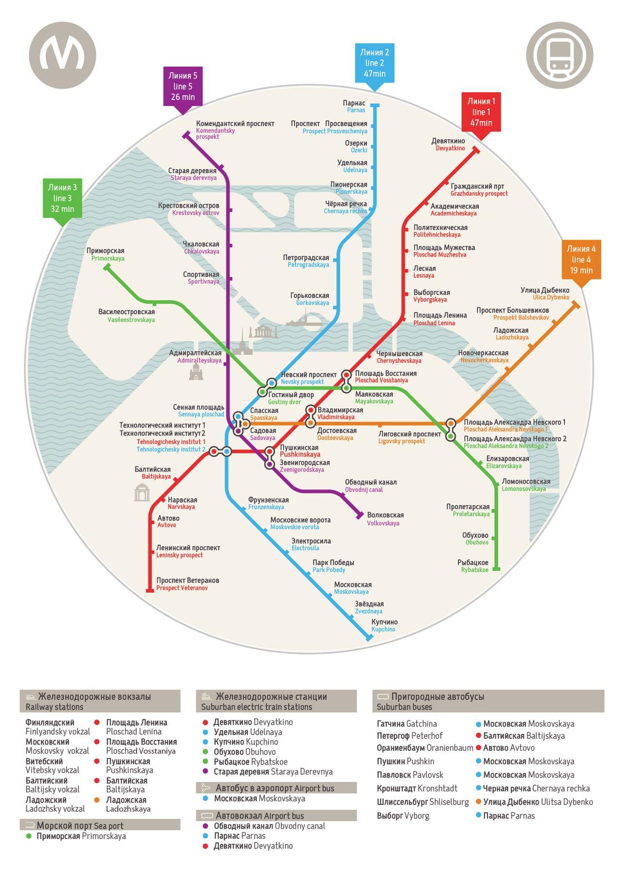 Saint Petersburg Russia Subway Map.Unofficial Map St Petersburg Metro Russia Subway Maps Map