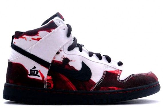 Nike Dunk Élevé De Sang Rouge Et Blanc pour pas cher photos de réduction wQtgPC