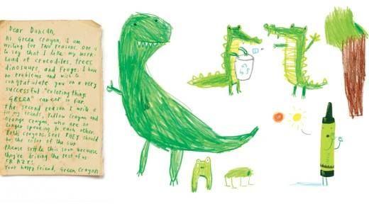El día que los crayones renunciaron. Oliver Jeffers