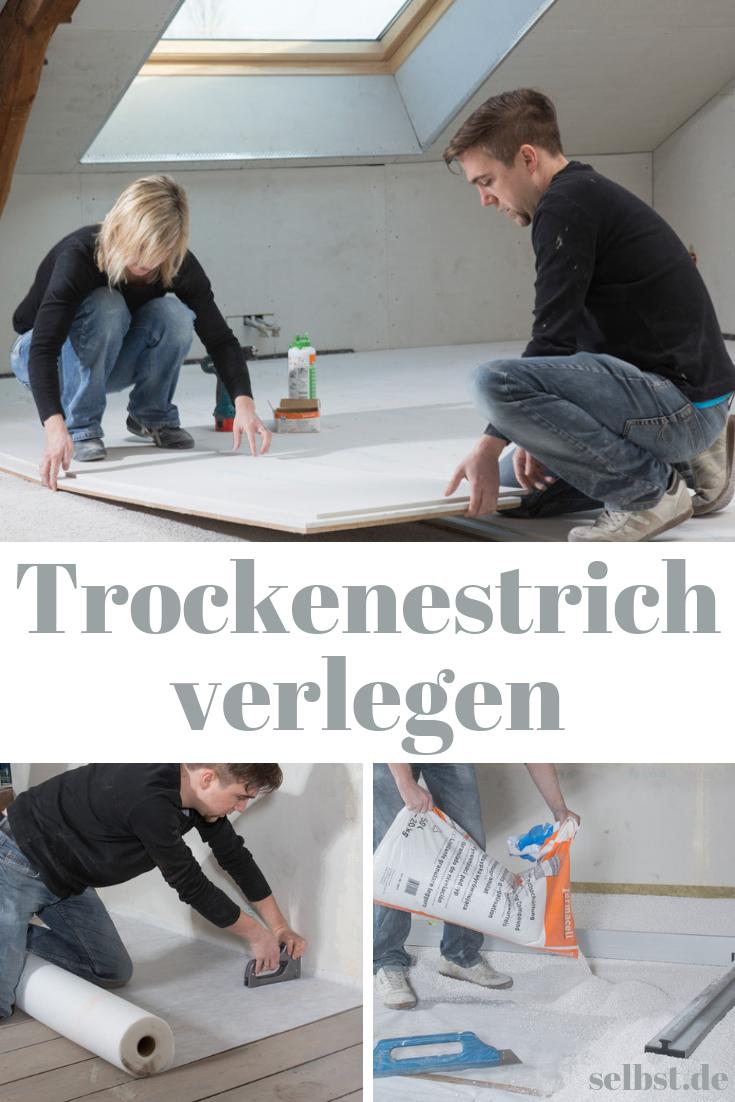Fermacell Trockenestrich Selbst De Estrich Dachboden Renovierung Altbau Sanieren