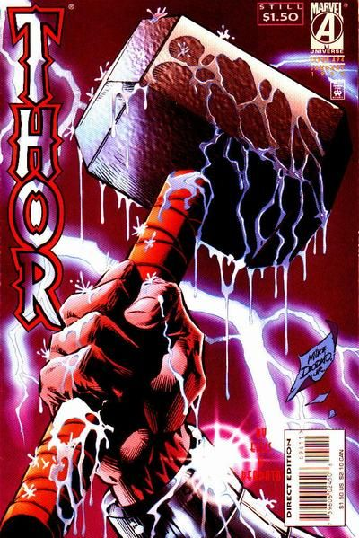 Cover for Thor #494 (Marvel, January 1996 )