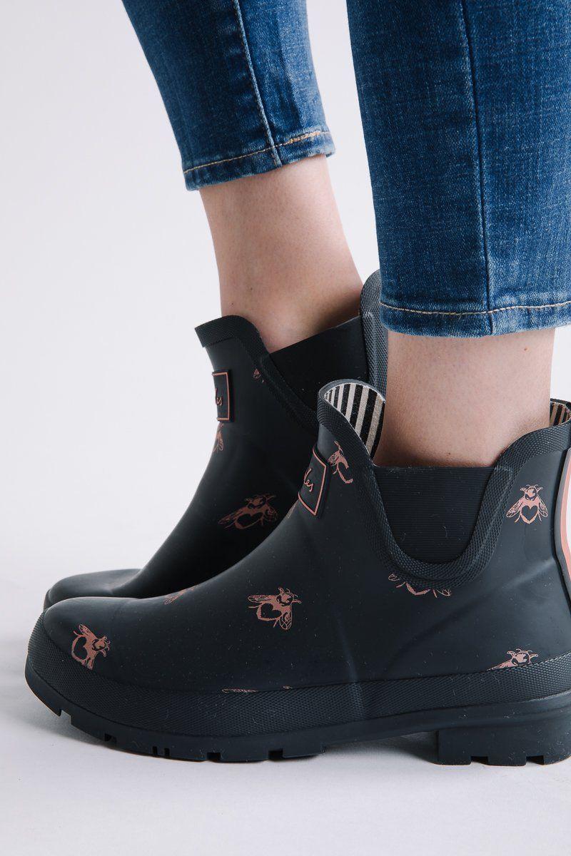 Joules: Wellibob Short Rain Boots in