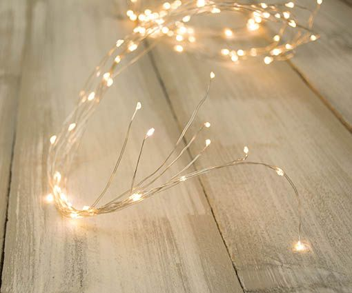 Fairy Lights 10 Led Strand Spray 6 Ft Outdoor Plug In Warm White White Fairy Lights Fairy Lights Outdoor Fairy Lights