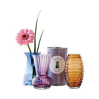 Dartington Little Gem Vases Bloomingdale S Dartington Glassware Vases Decor