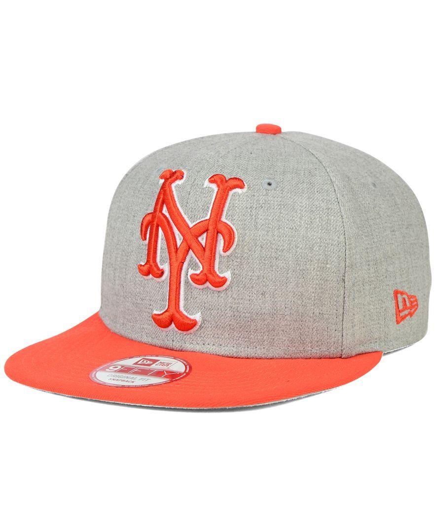 557db7c5cce93 New Era New York Mets Logo Grand 9FIFTY Snapback Cap