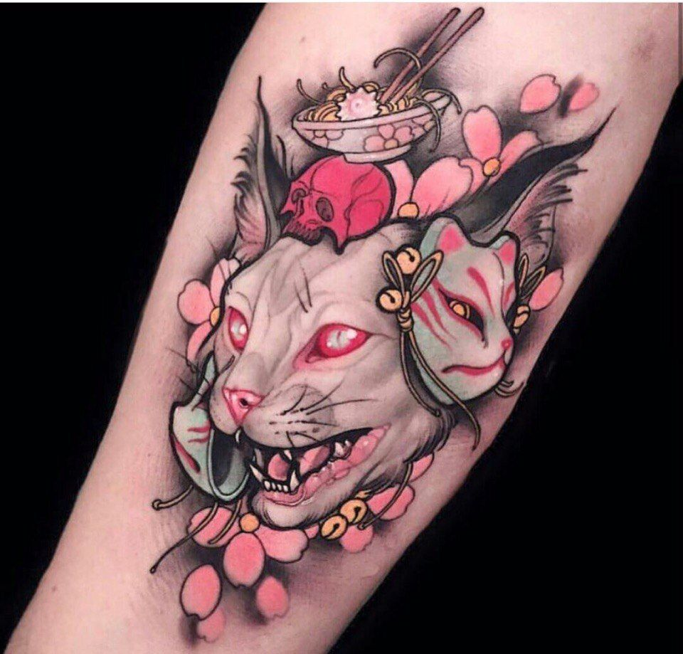 обновления молодцы тату сфинкса татуировки аниме и татуировка кошка