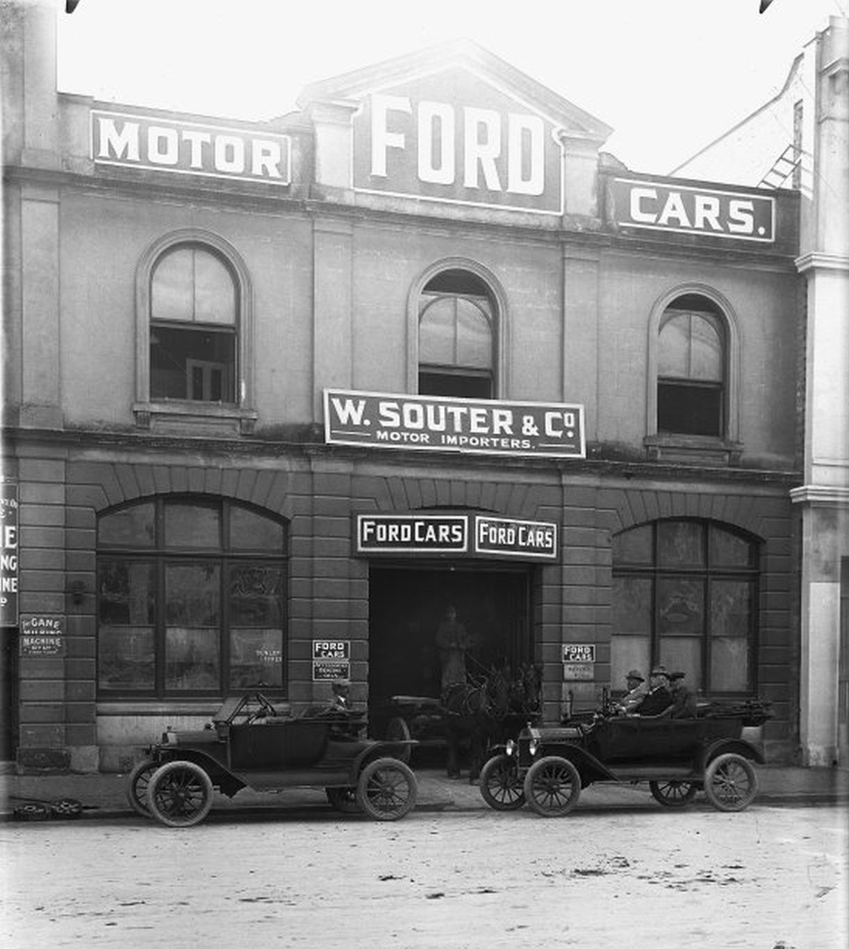 Model T Ford Forum Old Photo Brass Era St Louis Ford