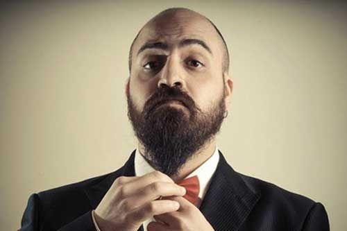 Pin Em Barba Lenhador E Careca