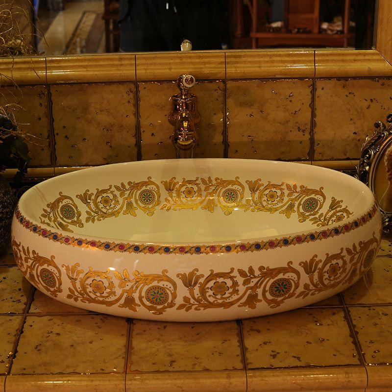 Lavabo Europa.Cheap Forma Ovale Bagno Guardaroba Cinese Handmade Europa D