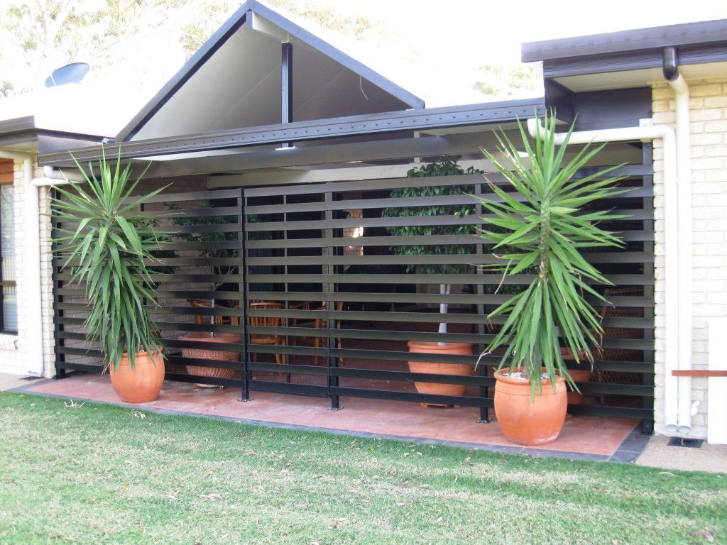 Slatted screen carport saferbrowser yahoo image search for Carport privacy screen