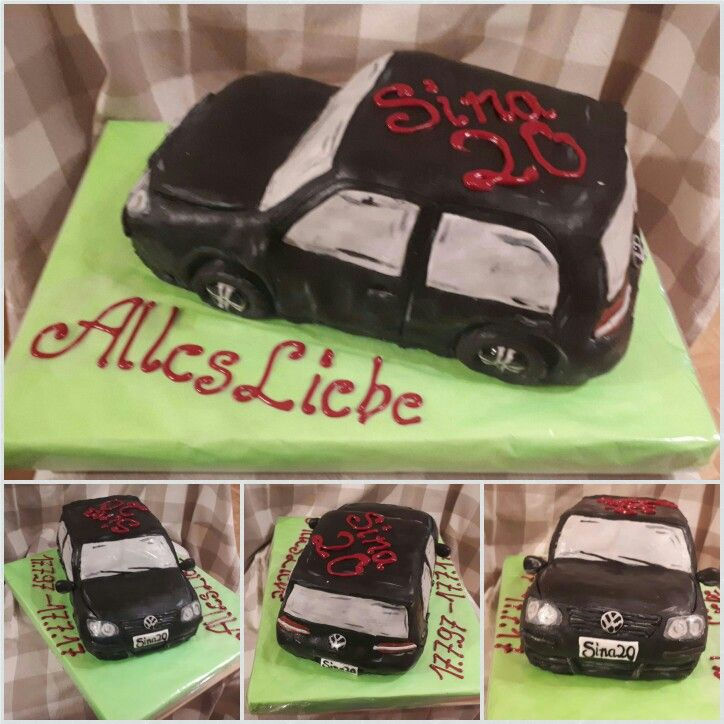 VW Golf Torte