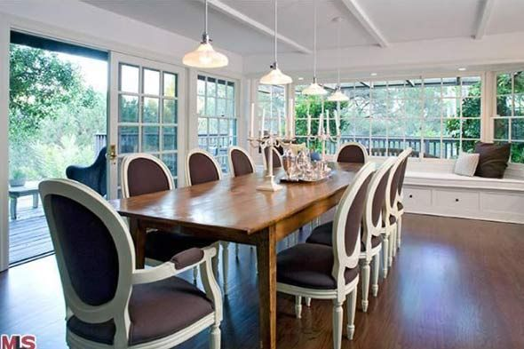 Dear Sally Field Can I Have Dinner At Your House Shelterpop Long Dining Room Tables Home House