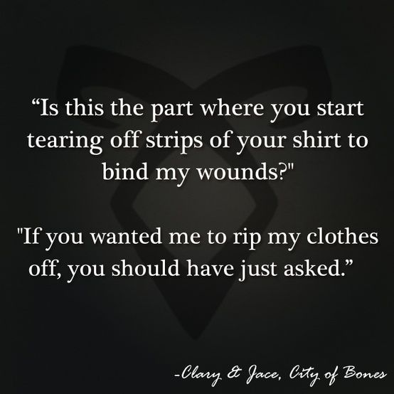 The Mortal Instruments City Of Bones Book Series By Cassandra Clare Quotes Clary And Jace City Of Bones Book Clary And Jace The Mortal Instruments