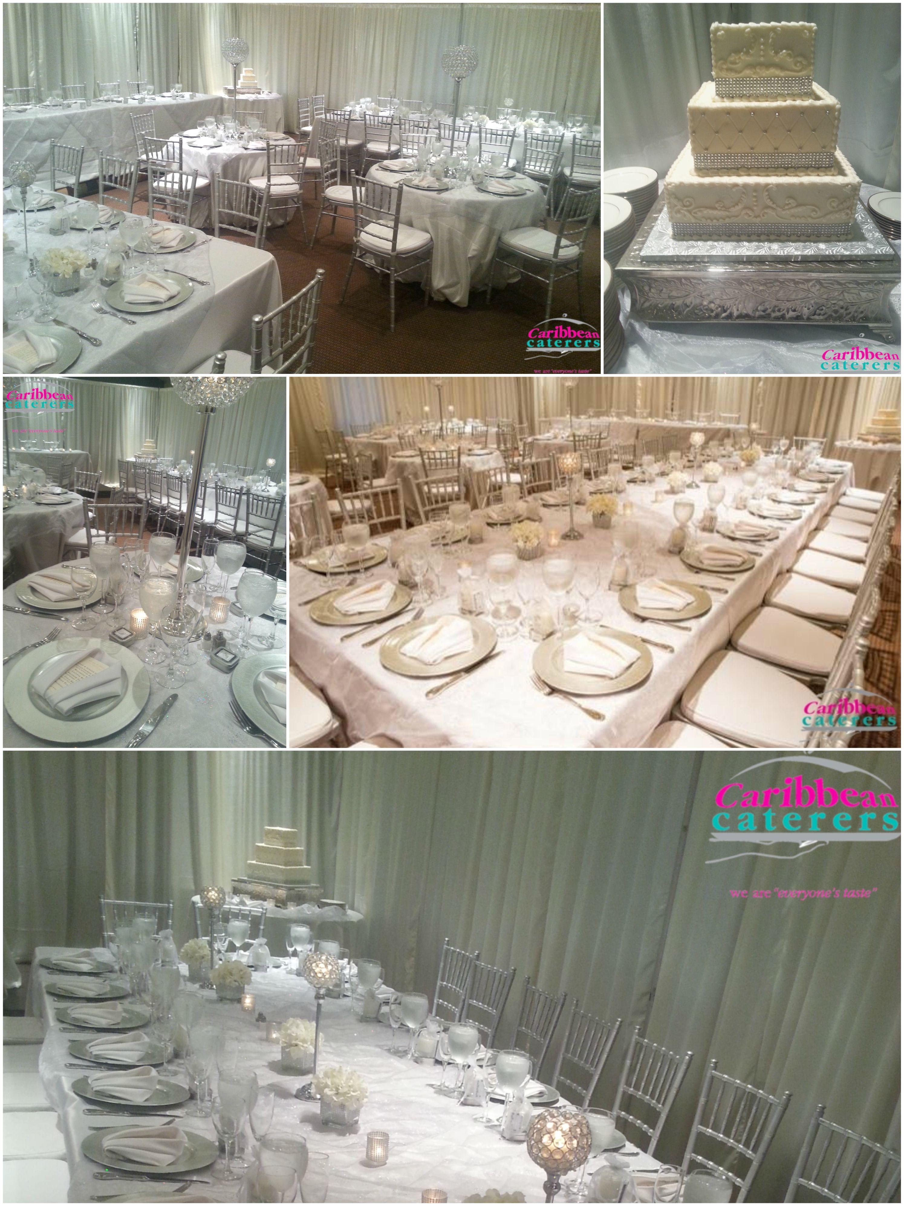 The Elegant Silver Theme Silver Themed Weddings Pinterest