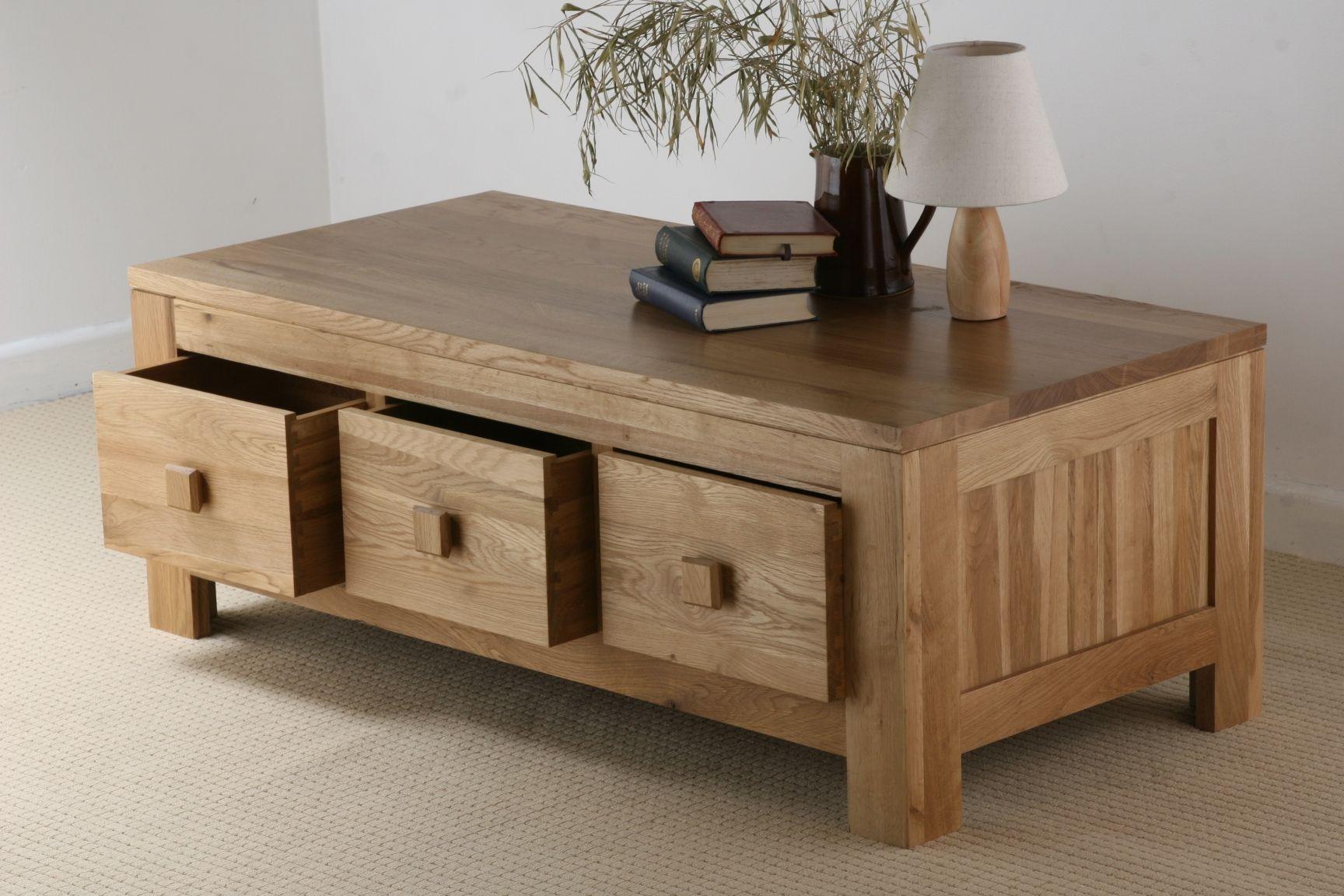 Oakdale Solid Oak Furniture Range Living Room Oak Coffee