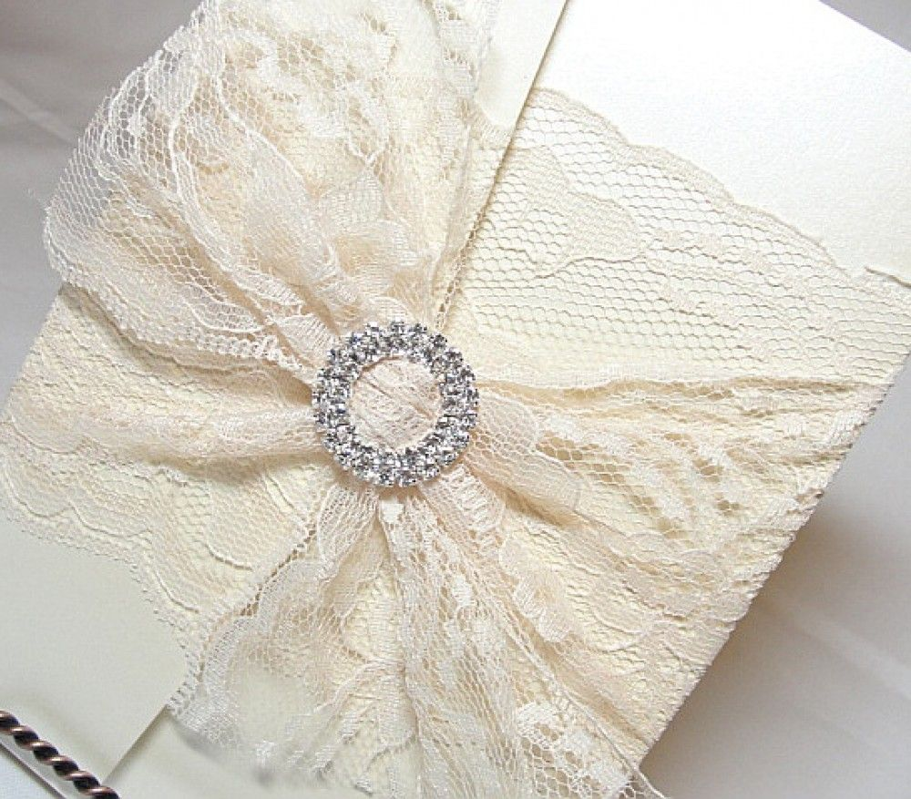 17 Best images about LACE wedding invitations – Vintage Wedding Invitations Lace