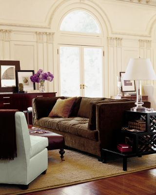Brown Sofa Brown And Cream Brown And White Brown Living Room Decor Brown Living Room Classic Furniture Living Room