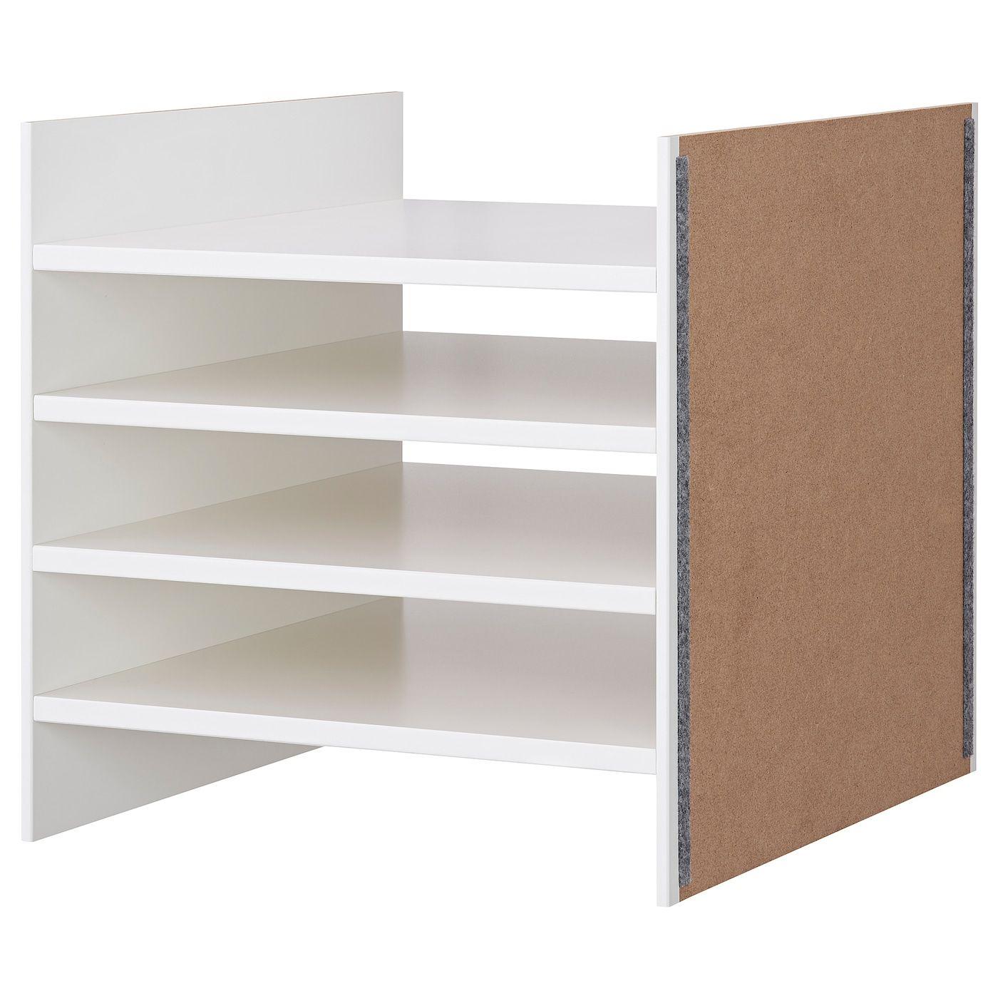 winkel bestsellers aantrekkelijke prijs laatste stijl KALLAX Inzet met 4 planken - wit - Kallax, Plank en Ikea