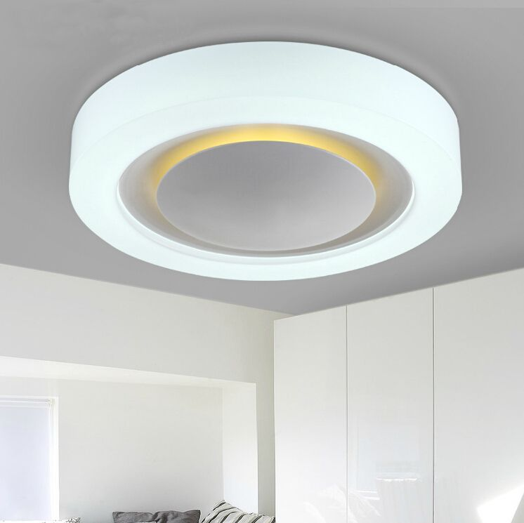 Hot modern ceiling led lights with night light for bedroom kids room baby mother room white