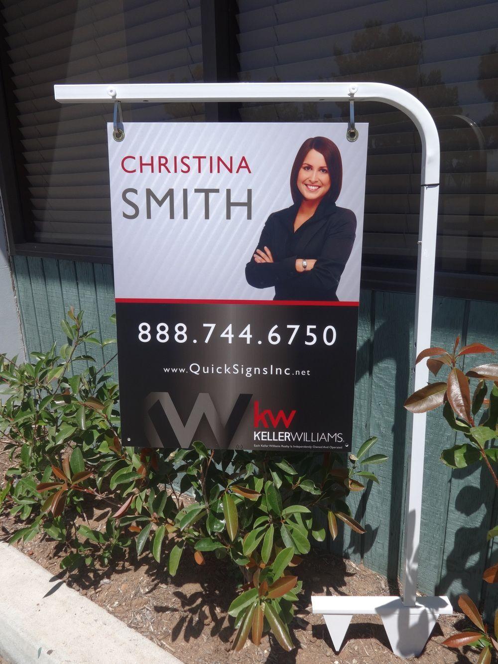 Keller williams realty quick signs advertising inc
