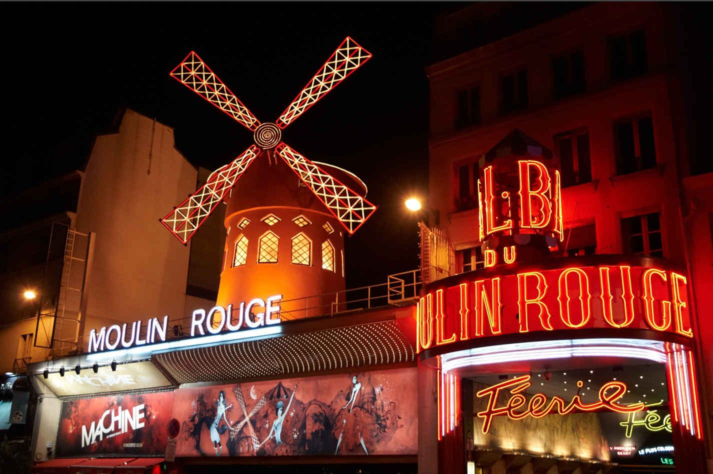 The 10 Most Photographed Places On Earth In 2020 Moulin Rouge Paris Travel Red Light District
